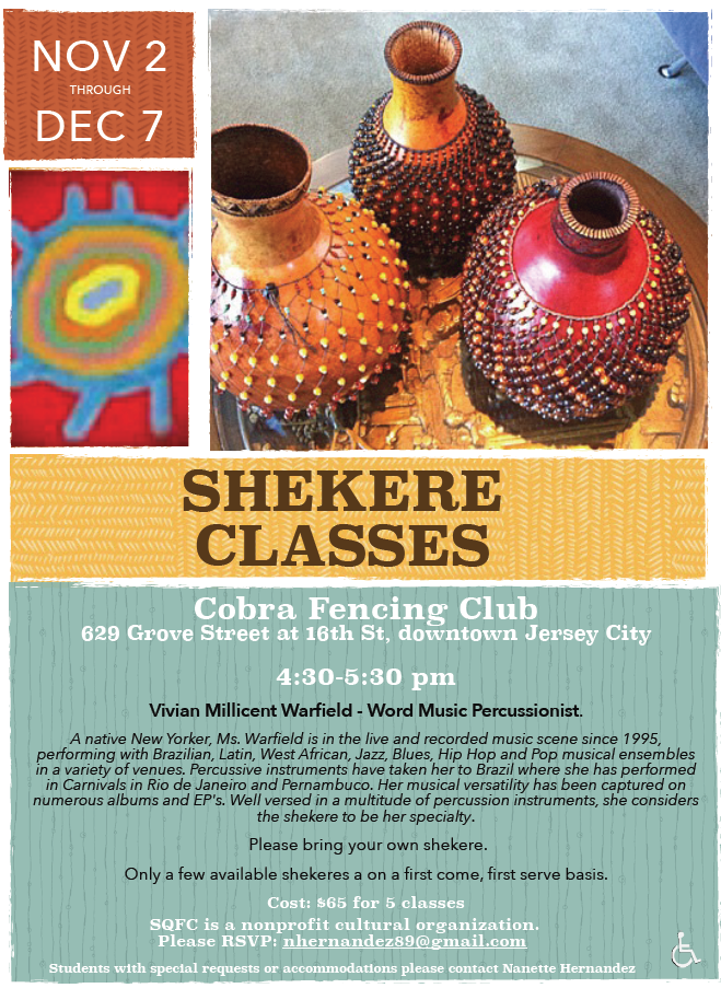 Shekere Classes