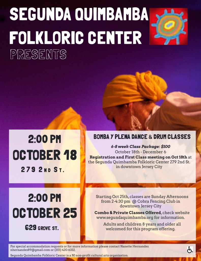 Classes fall 2015 flyer