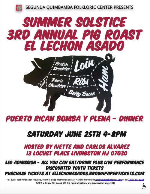 Pig Roast Flyer 2016