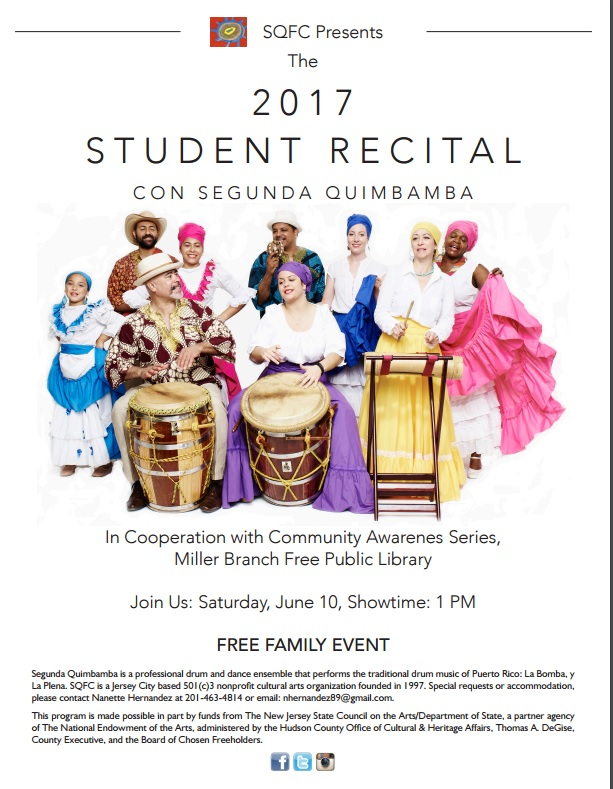 Spring 2017 Recital Flyer